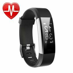 Letsfit Fitness Tracker HR, Activity Tracker Watch  Heart Ra