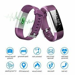 LETSCOM Fitness Tracker HR Activity Tracker Watch with Heart