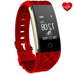 Fitness Tracker,Juboury Heart Rate Activity Tracker Touch Sc