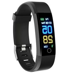 Fitness Tracker Smart Watch Heart Rate Blood Pressure Monito