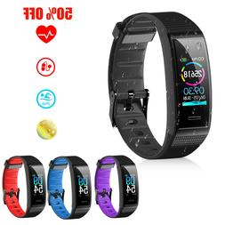 fitness tracker smart wristband sport watch pedometer
