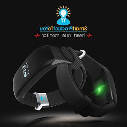 Fitness Tracker Watch: Heart Rate, Swimming, Pedometer, and