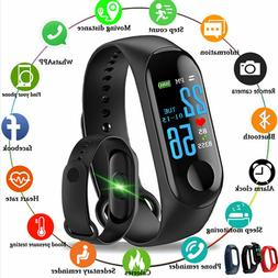 Fitness Tracker Watch with Blood Pressure and Heart Rate Mon