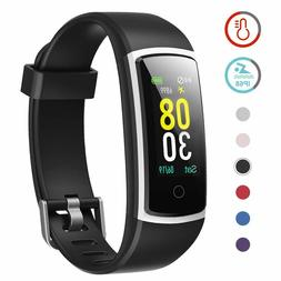 YAMAY Fitness Tracker with Blood Pressure Monitor Heart Rate