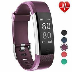 Fitness Tracker with Heart Rate Monitor, Willful Fitness Wat