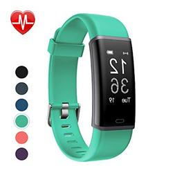 LETSCOM Fitness Tracker with Heart Rate Monitor Watch, Activ