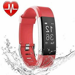 LETSCOM Fitness Trackers Tracker HR, Heart Rate Monitor Watc