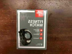 Medline Fitness Watch - Heart Rate Monitor and Pedometer - N