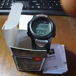 Medline Fitness Watch Heart Rate Monitor, Pedometer, and Sto