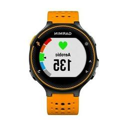 Garmin Forerunner 235 with Heart Rate Monitor, Black/Solar F