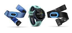 Garmin Forerunner 735XT GPS Running Watch Tri-Bundle - Midni