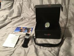 Polar FS1 Dark Blue Heart Rate Monitor Fitness Watch New in