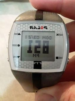 Polar FT4  Heart Rate Monitor gray and black new battery! wo
