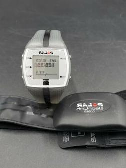 Polar FT4  Heart Rate Monitor with Wearlink chest strap. Wor