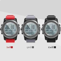 GPS Smart Watch Heart Rate Monitor Altimeter Barometer Therm