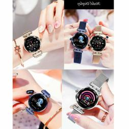 "H1 1.04""Women Smart Watch Waterproof Heart Rate Monitor Sp"