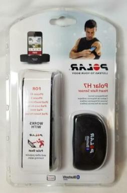 NEW Polar H7 Heart Rate Sensor Black M-XXL 92044305 for for