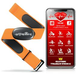 Heart Rate Monitor Strap for Garmin, Apple, Android, ANT+ an