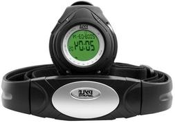Pyle Heart Rate Monitor Watch with Heart Rate Calorie Counte