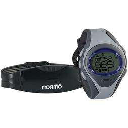 Omron HR-310 Heart Rate Monitor Watch with Chest strap