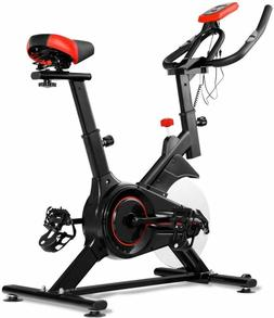 Indoor Cycling Exercise Bike Stationary Spinning Bicycle Hea
