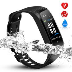 Hommie IP68 Waterproof Fitness Tracker Activity Tracker with