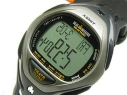 Timex Ironman Race Trainer Heart Rate Monitor Watch, Black/G