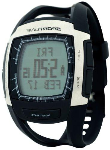 Sportline 670 Men's Heart With Speed and Distance Tracking
