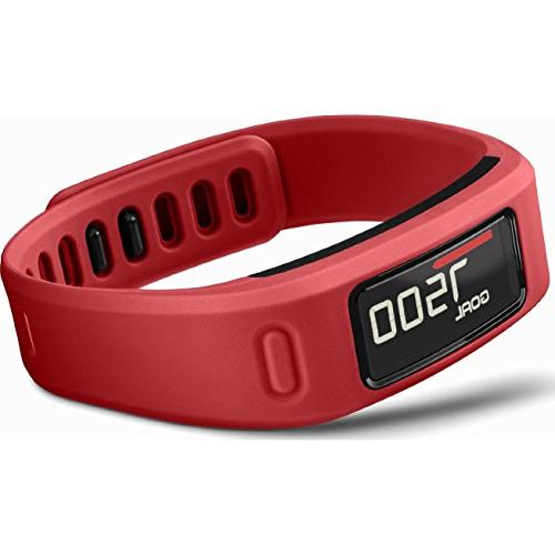 Garmin VIVOFIT Band That Moves the Pace of Your Life Red