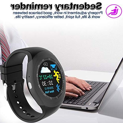 Smart Watch with Blood Pressure Monitor for Men Women Watch with Pedometer GPS for Holiday Electronic Gifts