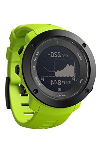 ambit3 vertical lime multisport watch