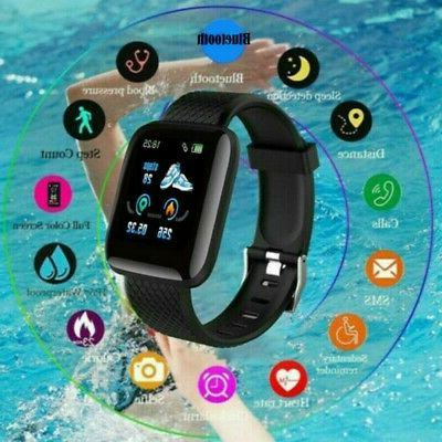 Smart Watch Blood Pressure Heart Rate Monitor Wristband for