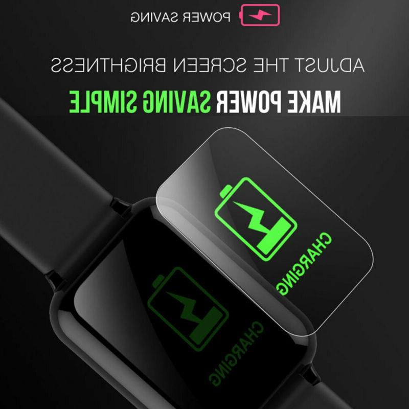 Bluetooth SMART Watch Rate & Blood Monitor Sport