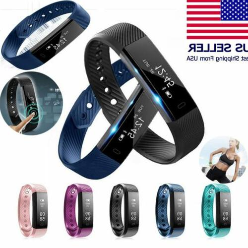 Bluetooth Bracelet Rate Monitor Tracker Wristband