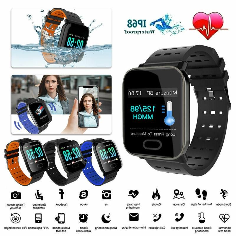 bluetooth smart watch blood pressure heart rate