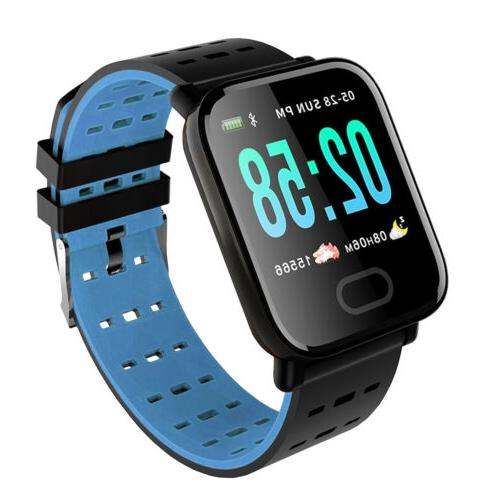 Bluetooth Smart Blood Pressure Heart Rate Fitness Universal