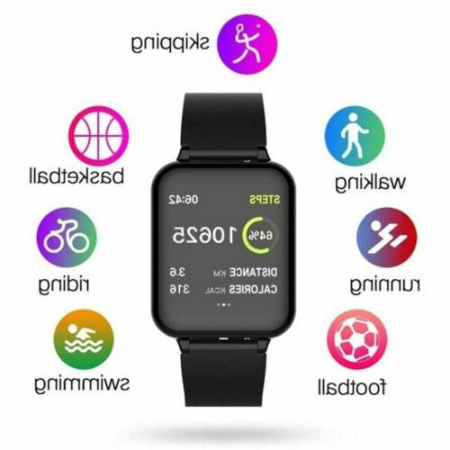 bluetooth smart watch heart rate and blood