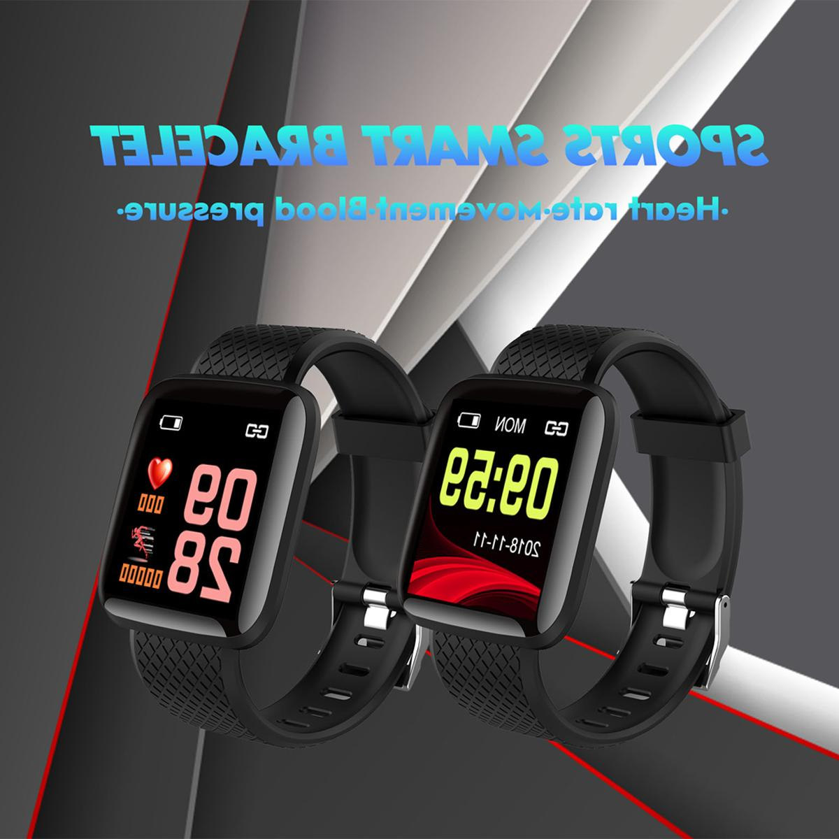 Bluetooth Smart Heart Rate Sport Fitness Tracker Stock