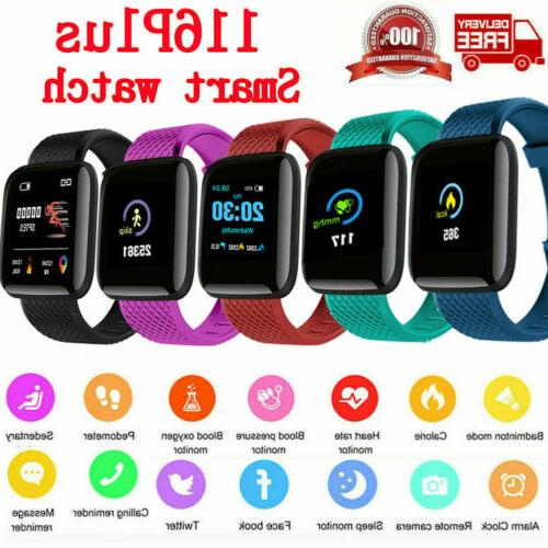 bluetooth smart watch heart rate blood oxygen
