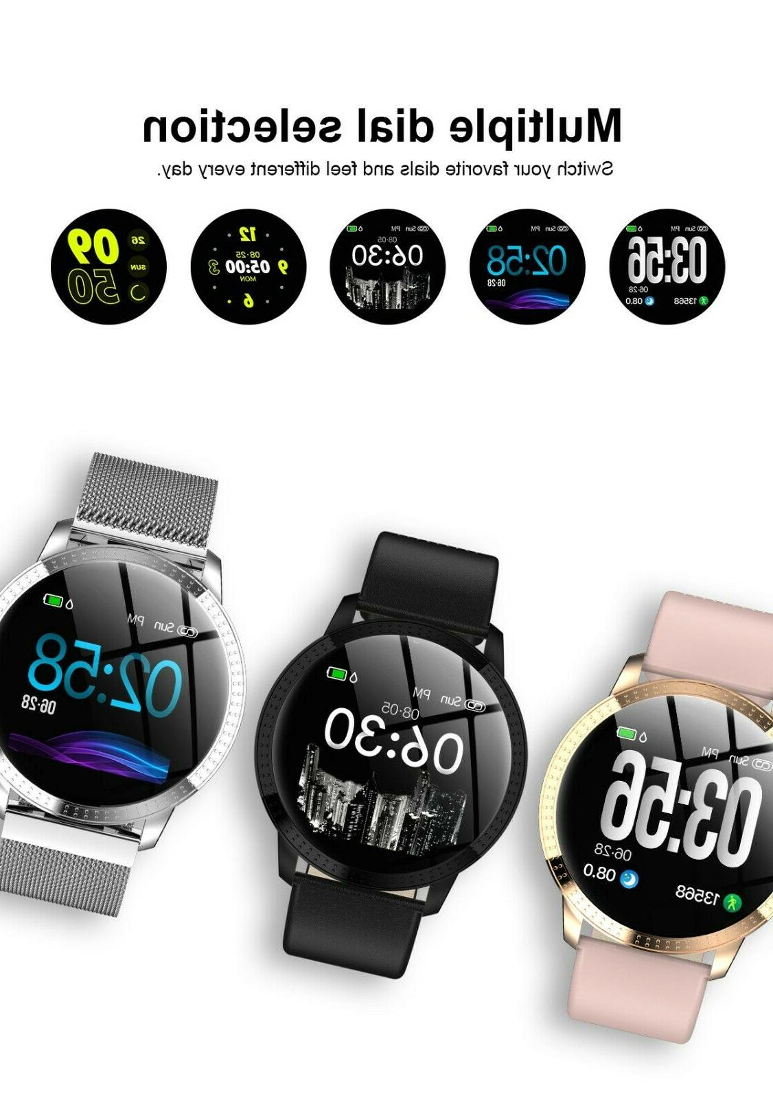 BLUETOOTH WATCH WITH CALORIE STEP COUNTER NOTIFICATIONS NO SIM