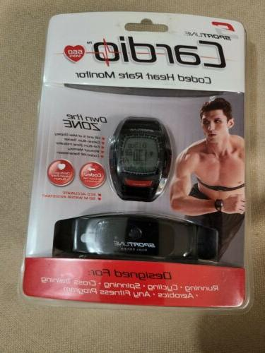 cardio coded heart rate monitor 660 men