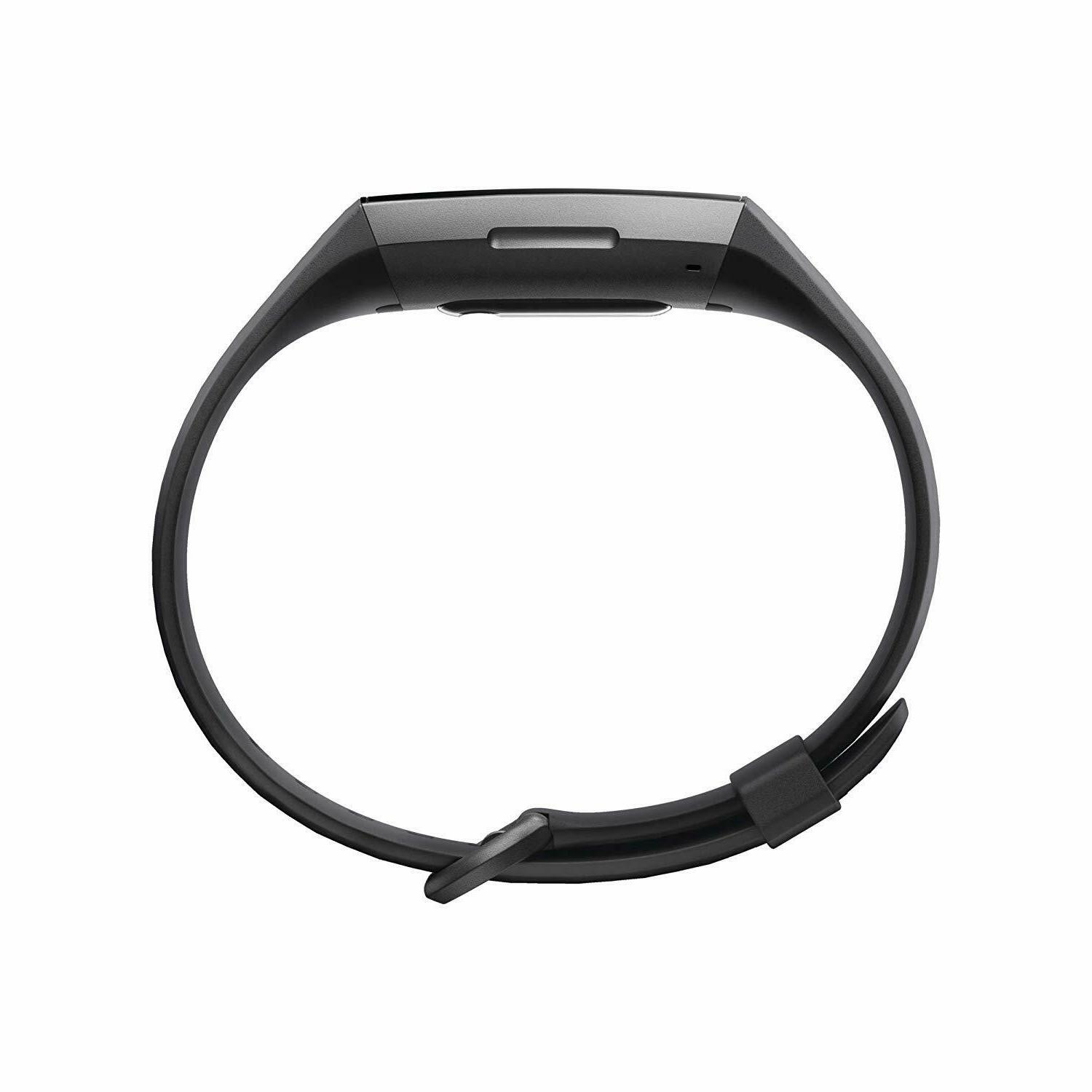 Fitbit Charge Activity Tracker, Graphite/Black, Size S & Bands