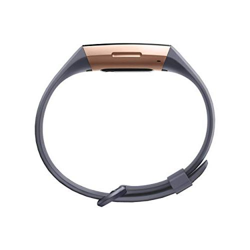 Fitbit Fitness Activity Tracker, Grey, One Size