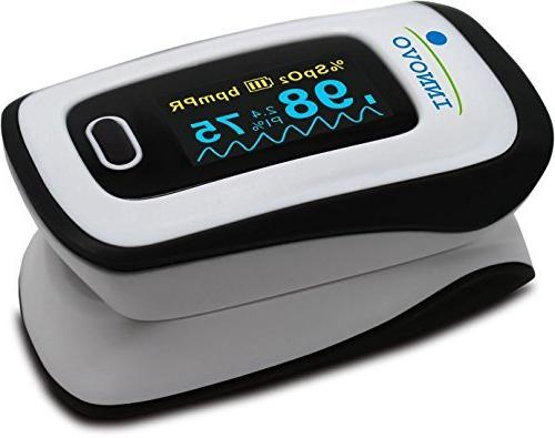 Innovo Deluxe Fingertip Oximeter Perfusion