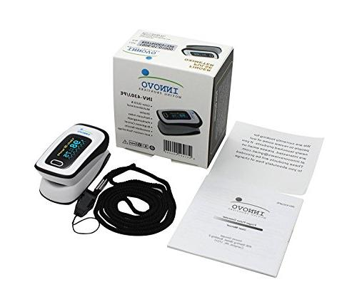 Innovo Deluxe Fingertip Pulse Oximeter with Perfusion