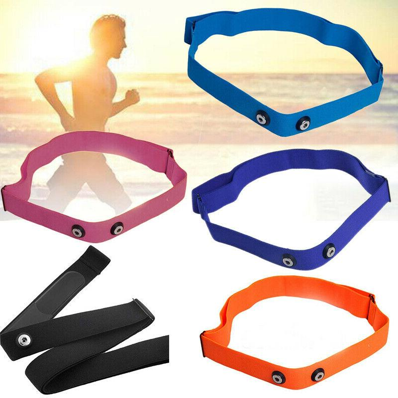 Elastic Chest Belt Strap Fitness Sport Heart Rate Monitor Fo