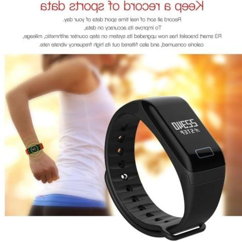 F1 Blood Pressure/Oxygen Rate Bracelet Fitness