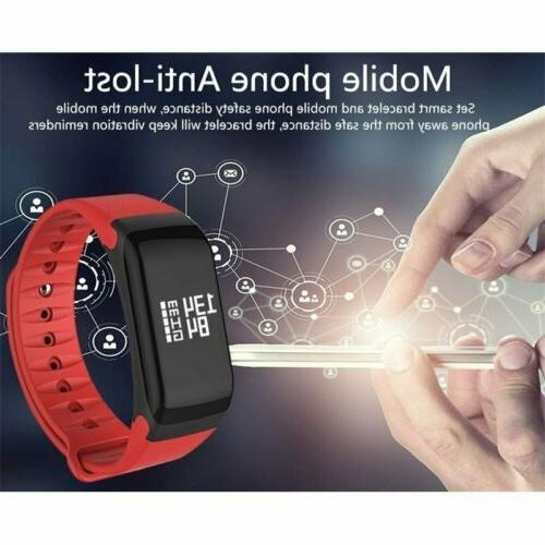 F1 Fitness Smart Watch Wrist Bracelet