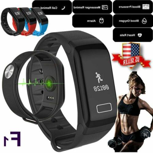 f1 fitness blood pressure tracker heart rate