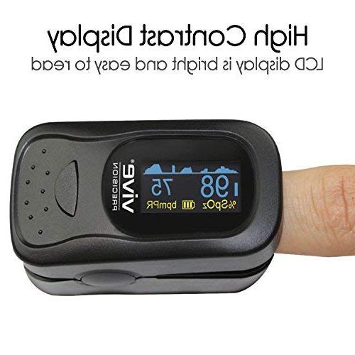 Oximeter Device for Oxygen Level Reading Ox - Measure Levels